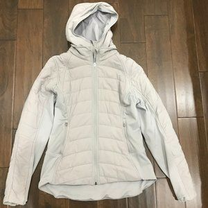 Lululemon Extra Mile Jacket Dark Chrome Size 10